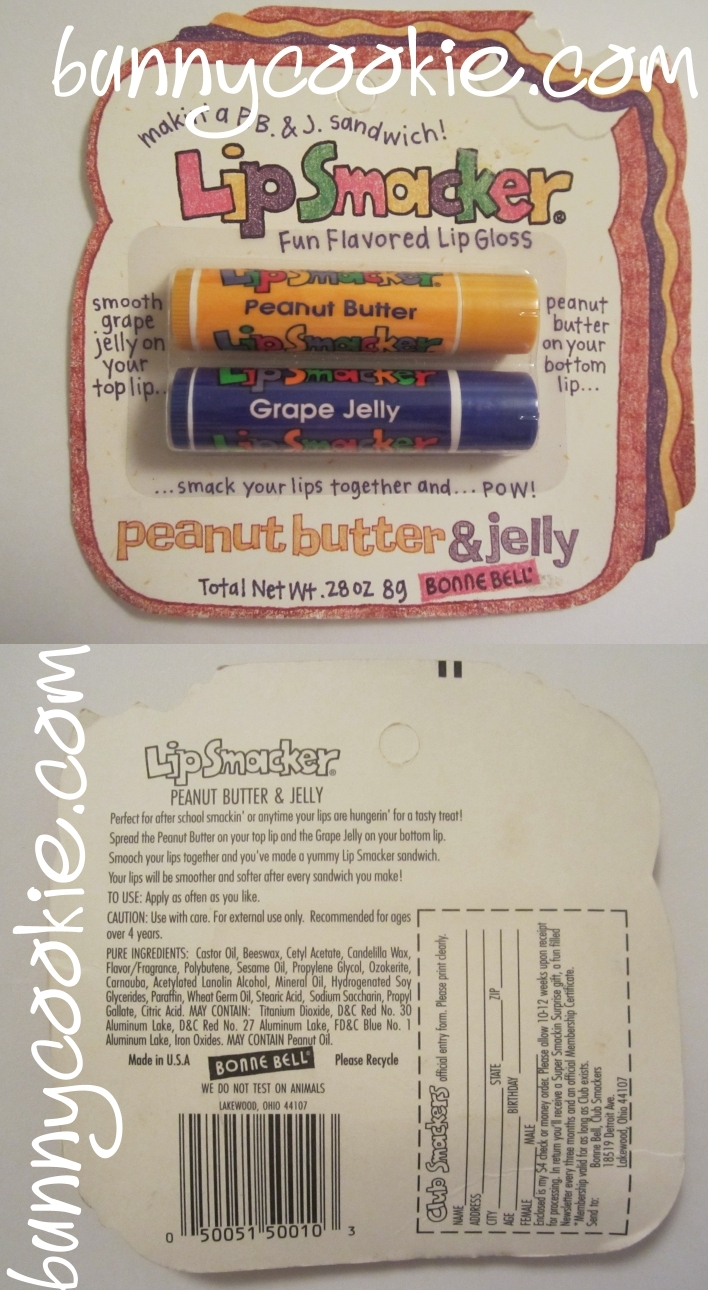 Lip Smacker - Peanut Butter and Grape Jelly