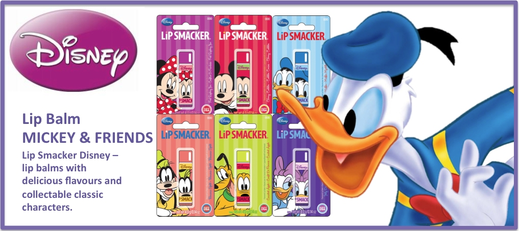 Lip Smacker - New Disney