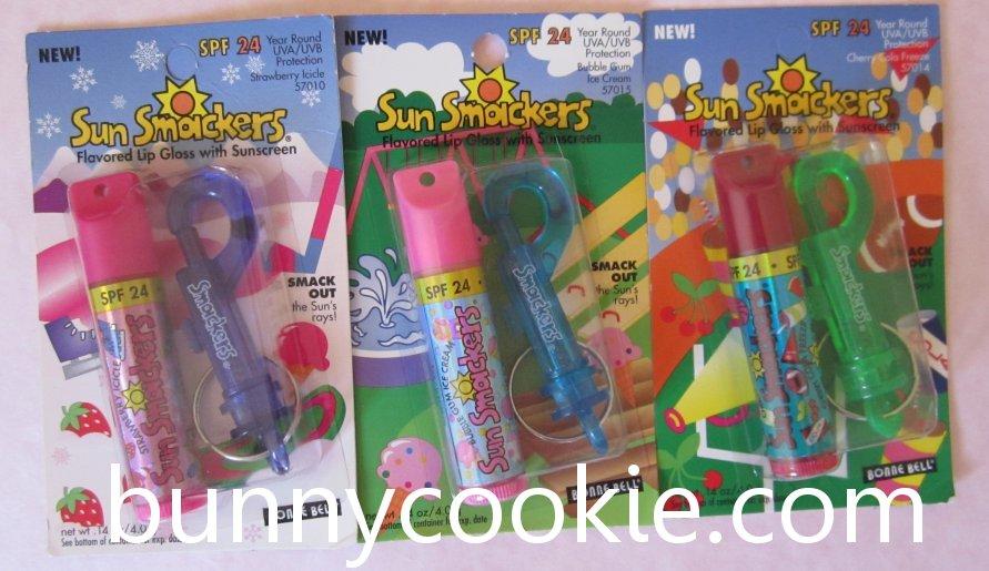 Sun Smackers - Strawberry Icicle, Bubble Gum Ice Cream, Cherry Cola Fizz