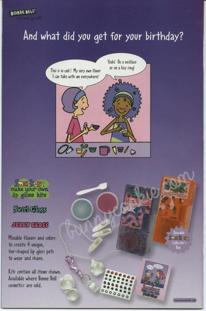 Adorable 2003-2004 S'whirl Gloss ad... anyone have this kit?