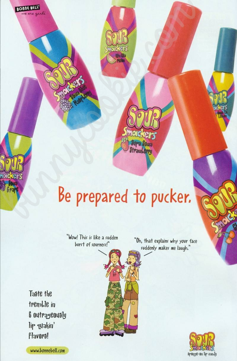 2002 Sour Smackers ad