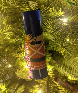 Vintage Soldier, Lip Smacker Christmas 1981
