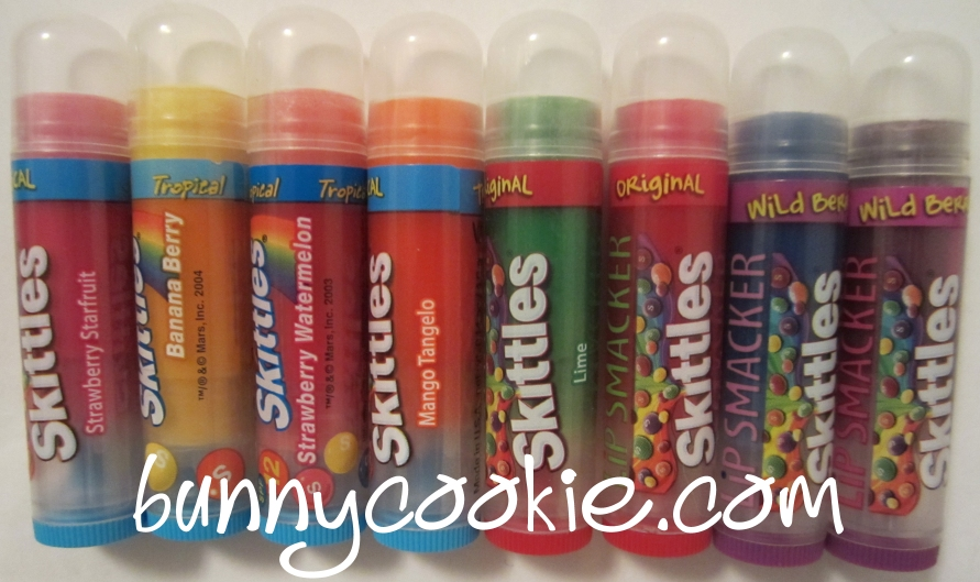 Lip Smacker - Skittles Party Pack
