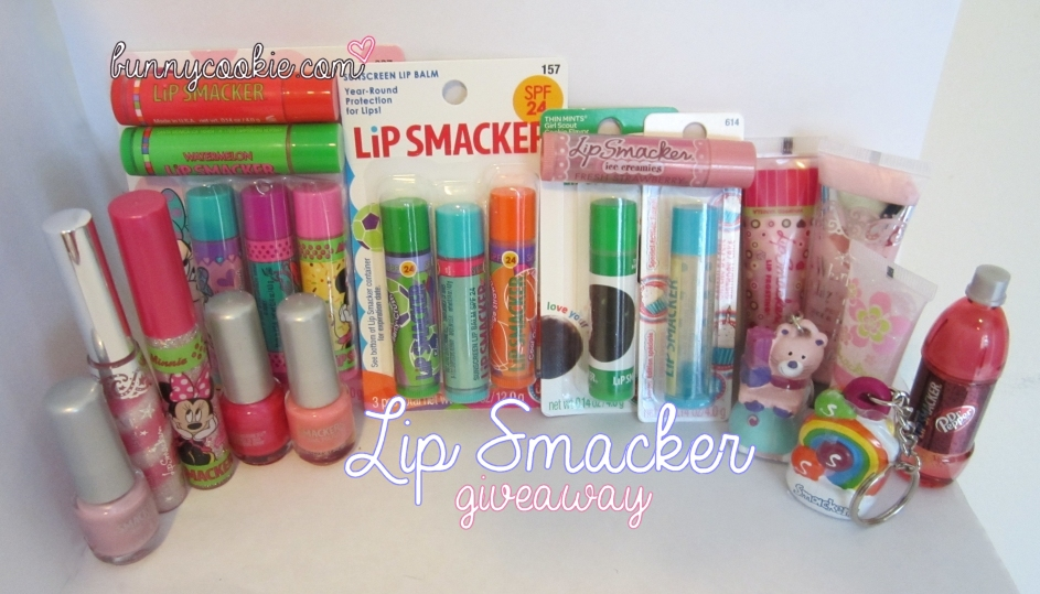Lip Smacker Giveaway