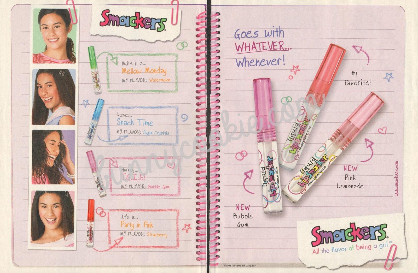 2005 Liquid Lip Smackers ad